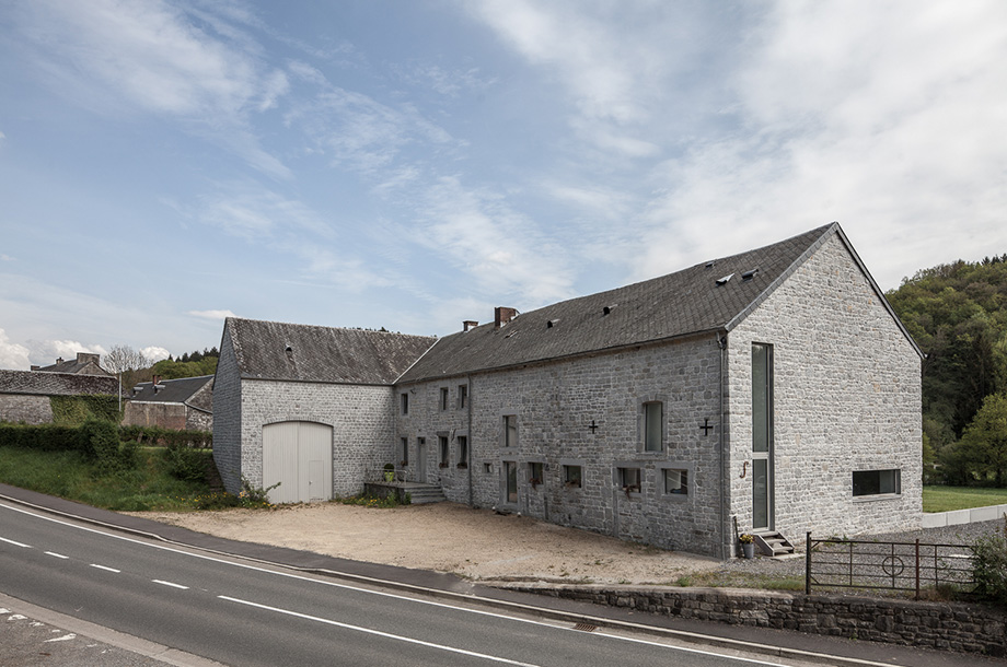 Pavillonchamps Vieuxville - Grange rénovée