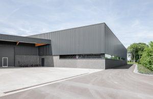 Pavillonchamps - Extensions d'un hall industriel à Herve